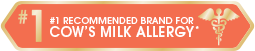 #1 Recommended Brand For Cow's Milk Allergy